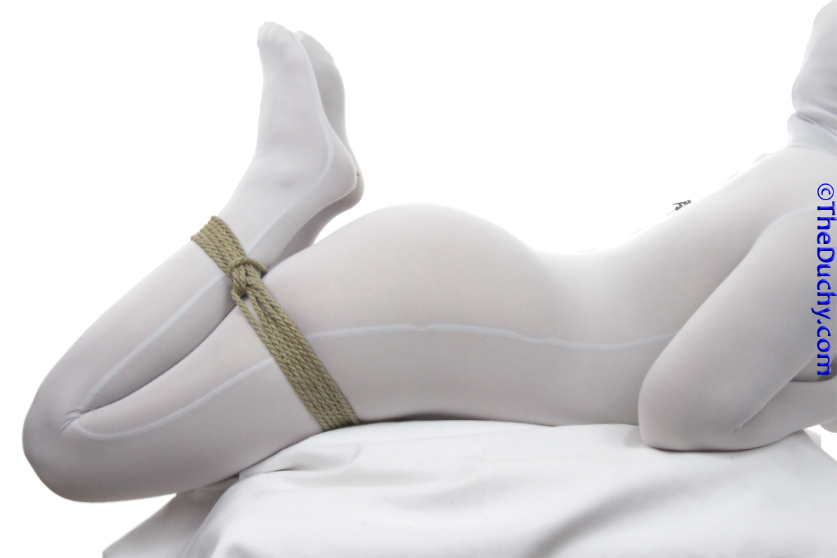 1. The simple version of an accessible hogtie simply