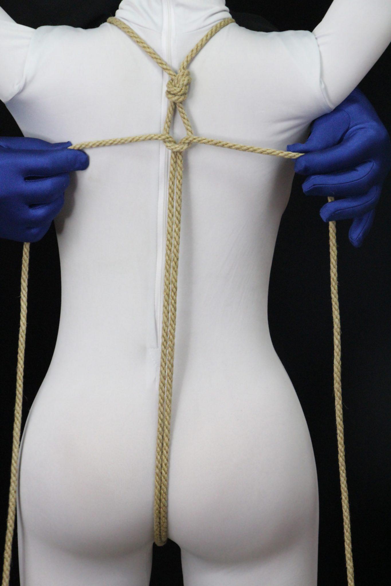 rope bondage under clothes