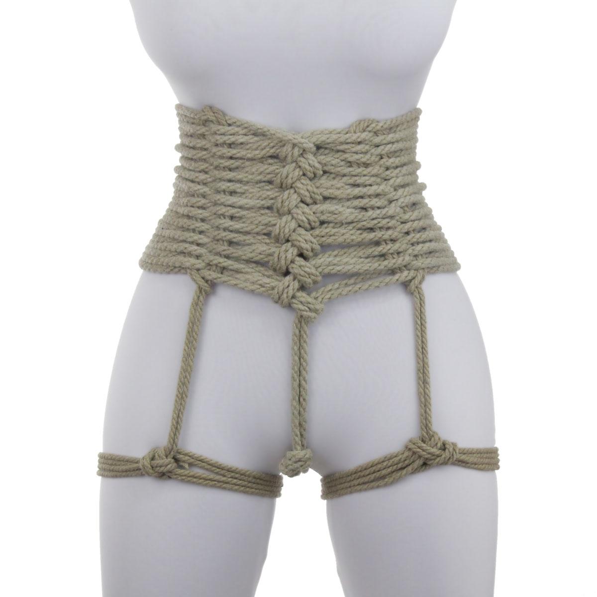 Breast binding rope