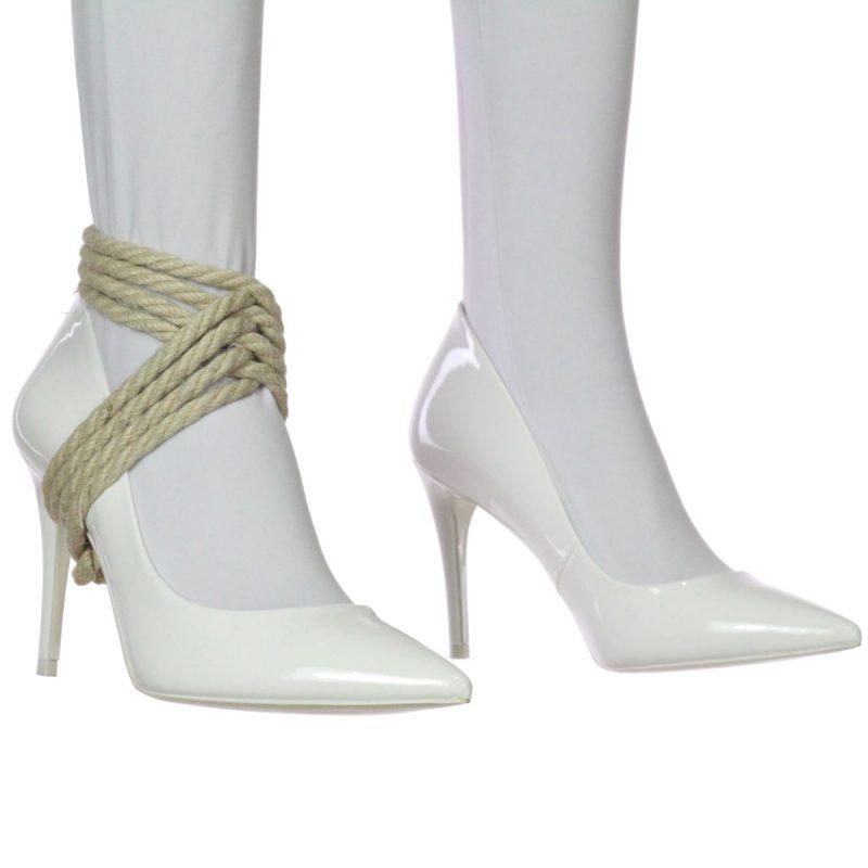 Heel Tie – Top Weave Style