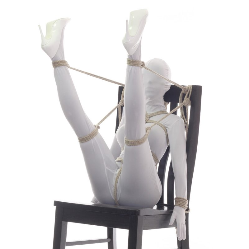 Chair Tie – Legs-Up ③